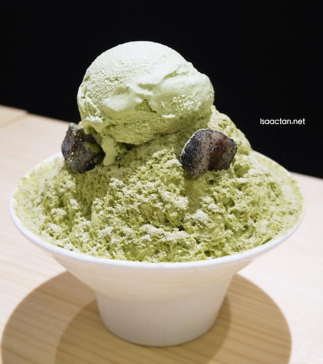 Green Tea Bingsu (RM16.80)