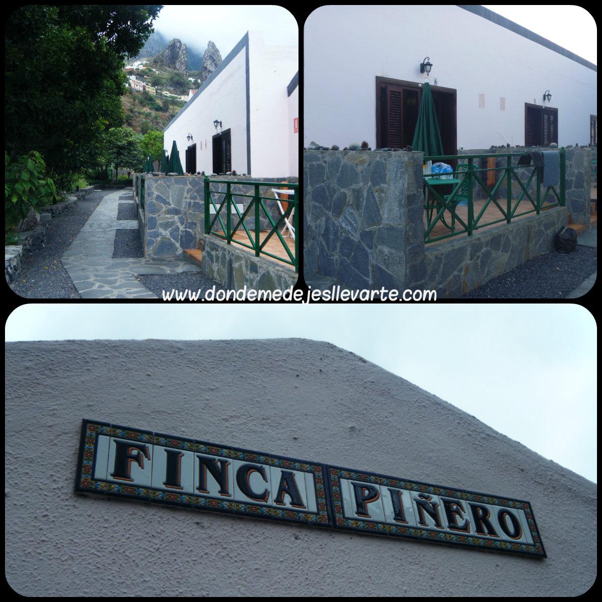 Finca Piñero, La Gomera