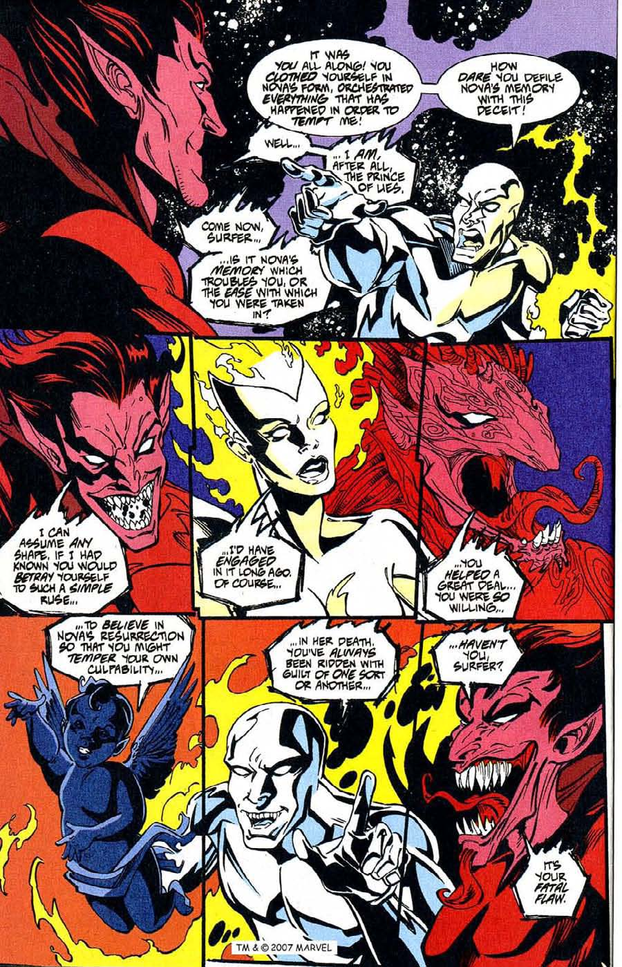 Read online Silver Surfer (1987) comic -  Issue #100 - 6