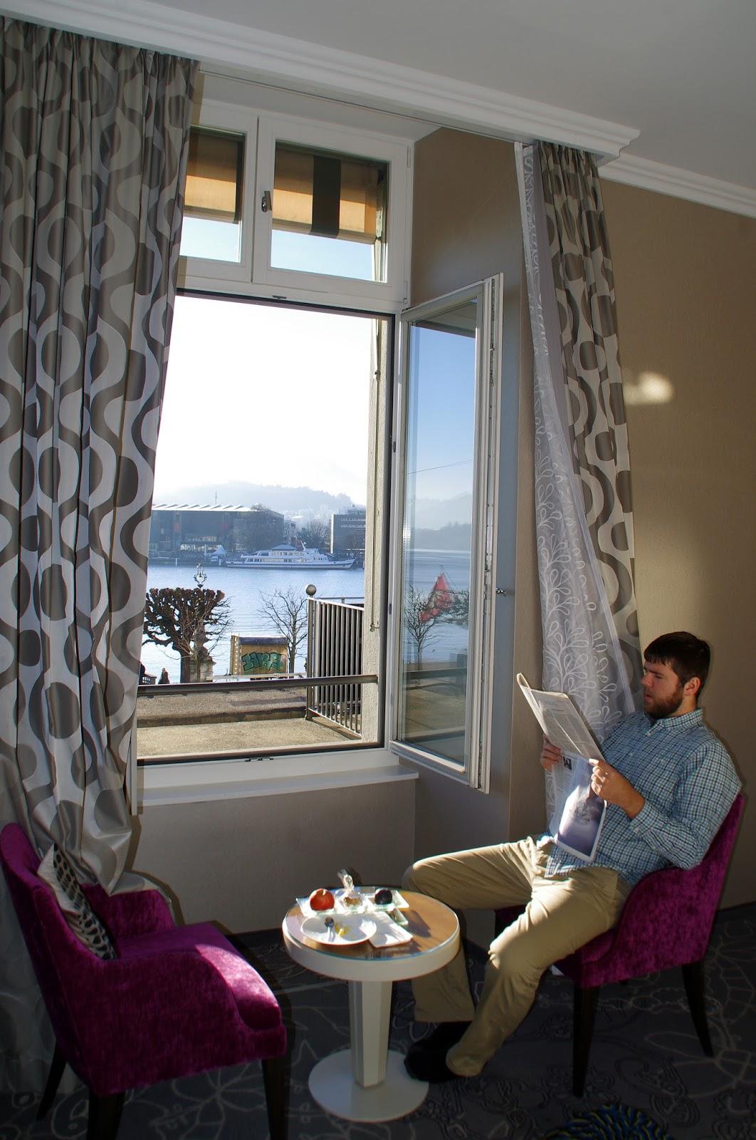 Hotel Schweizerhof Luzern Room View