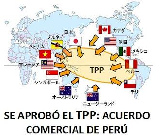 SE APROBÓ EL TPP: ACUERDOS COMERCIAL DE PERÚ