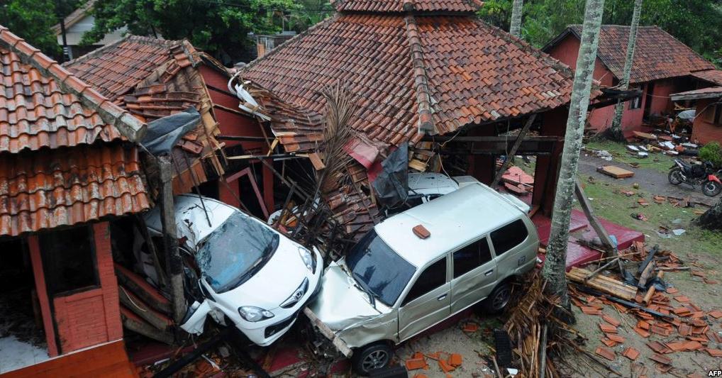 Tsunami Selat Sunda Indonesia