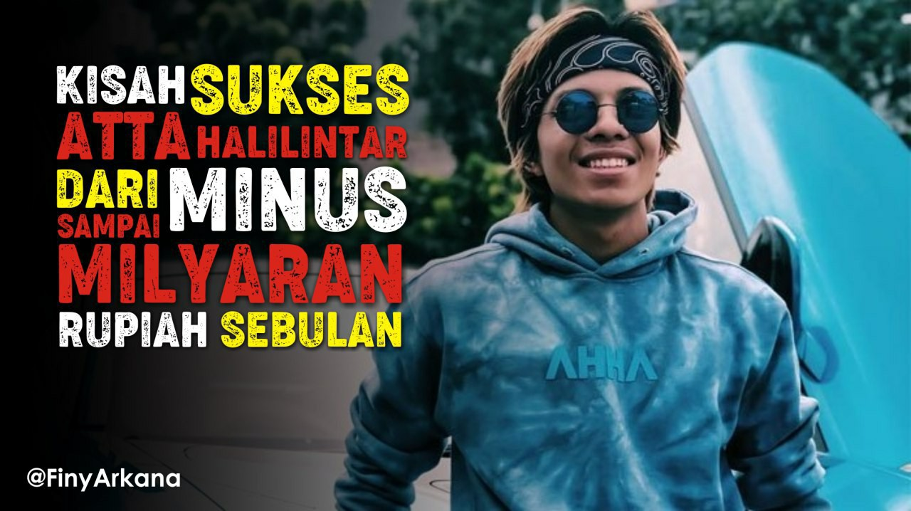 "Kisah Sukses King of Youtube Indonesia ""Atta Halilintar"" Penghasilan Milyaran Perbulan"