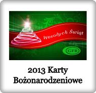 2013 Karty Bożonarodzeniowe