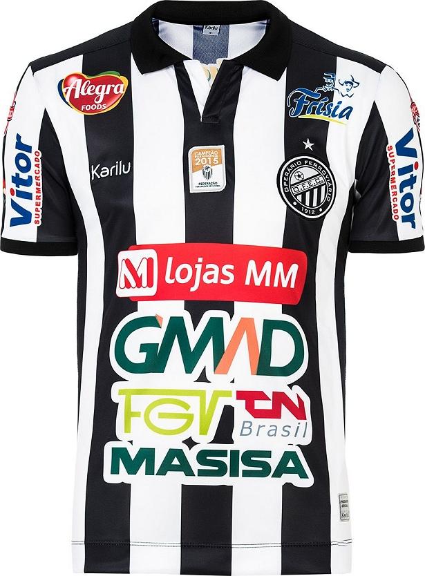 ee451c4ff Karilu lança as novas camisas do Operário de Ponta Grossa. A fabricante de material  esportivo ...