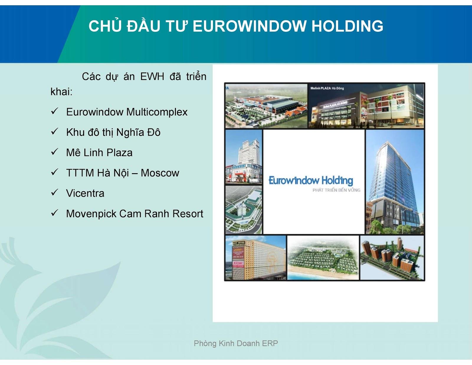 Chủ đầu tư Eurowindow River Park