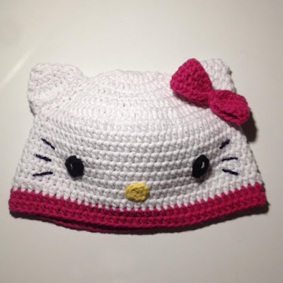 Hello Kitty Hat Crochet