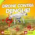 Iaçu: Prefeitura utilizará drone para identificar possíveis focos do mosquito transmissor da Dengue, Zica e Chikungunya.