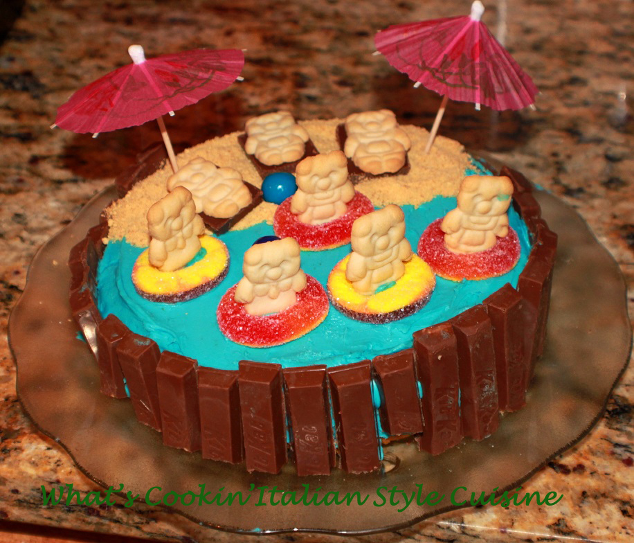 Cake made into a spa a fun project with the kids and great memories to start your own traditions. Cooking with kids is the best way for them to learn for their future. This chocolate spa cake is a great way to start.