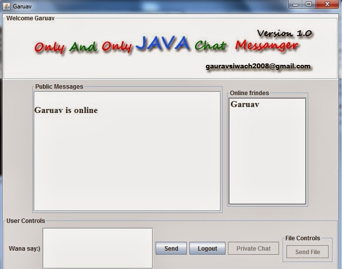 techadhyan com multithreaded chat server in java you can source code ly mail or comment any help