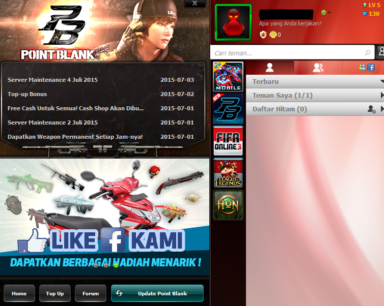 Cara Update Manual Patch PB Garena Indonesia