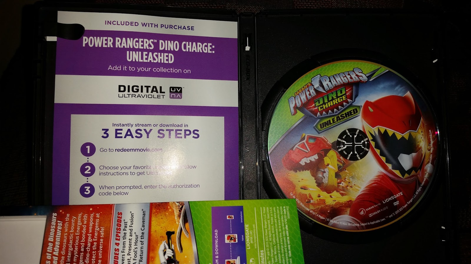 Get Intergalactic and Charged Up with POWER RANGERS DINO CHARGE