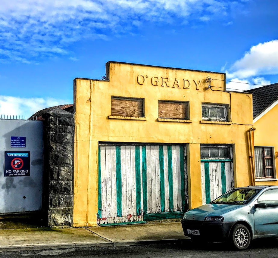 Patrick Comerford The Legacy Of Old Garages And Old Names