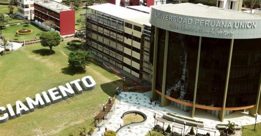 SUNEDU otorga licenciamiento a Universidad Peruana Unión - www.sunedu.gob.pe