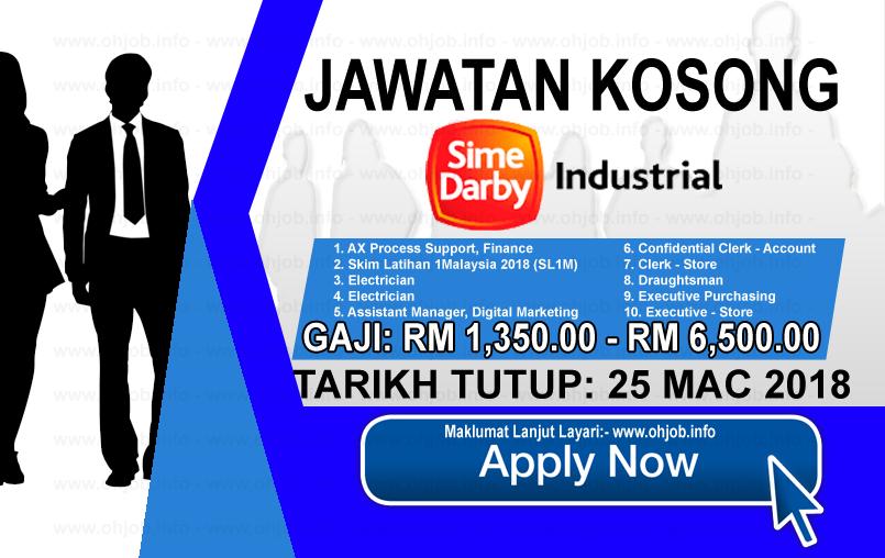Jawatan Kerja Kosong Sime Darby Industrial logo www.ohjob.info mac 2018