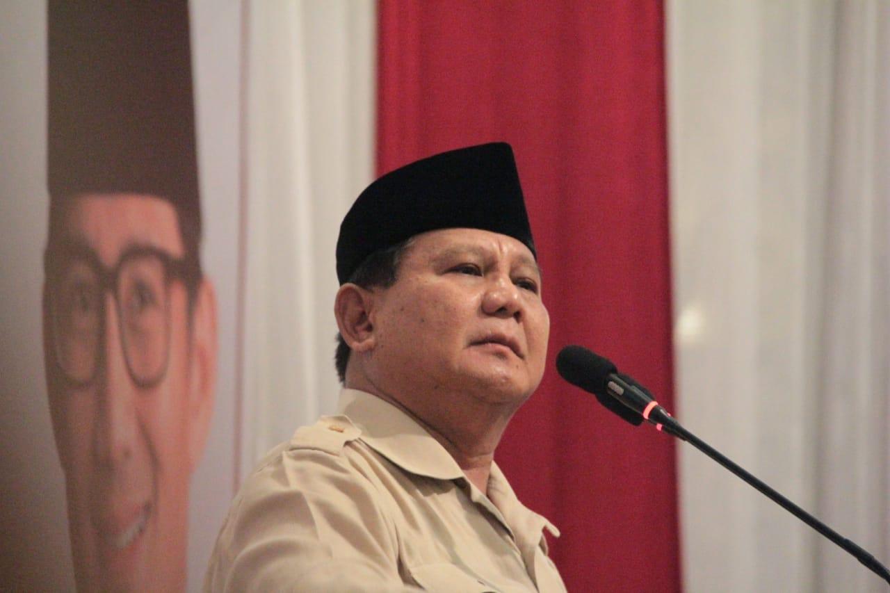 Prabowo: Menyerah Berarti Berkhianat kepada Negara, Bangsa dan Rakyat