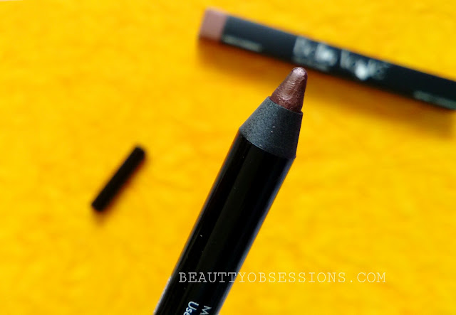 Bella Voste Gel Eyeliner in shade 'Caramel Brown' | Review & Swatch
