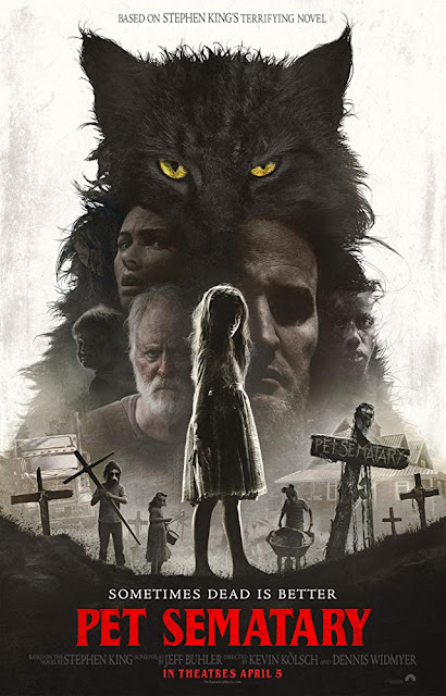 Pet Sematary 2019 horror movie poster