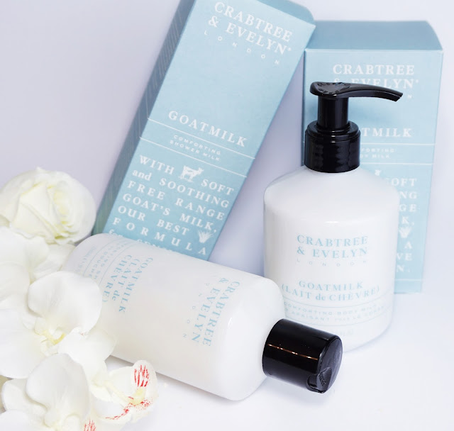 Crabtree & Evelyn - GOATMILK Kollektion Shower Milk, Duschmilch, Body Milk, Körpermilch, Lotion, Ziegenmilch, Kosmetik