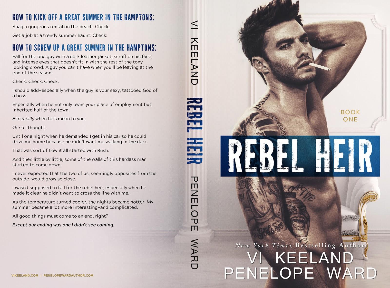Vi Keeland & Penelope Ward: Rebel Heir - Rush Series Duet #1