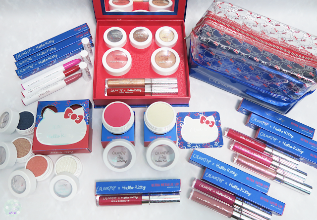 ColourPop x Hello Kitty - Full Collection | Kat Stays Polished