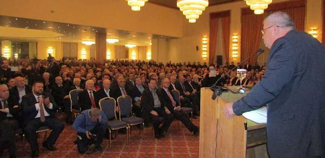Αλέκος Καχριμάνης: Μήνυμα για καθαρή νίκη από την πρώτη Κυριακή - Εντυπωσιακά μεγάλη συγκέντρωση