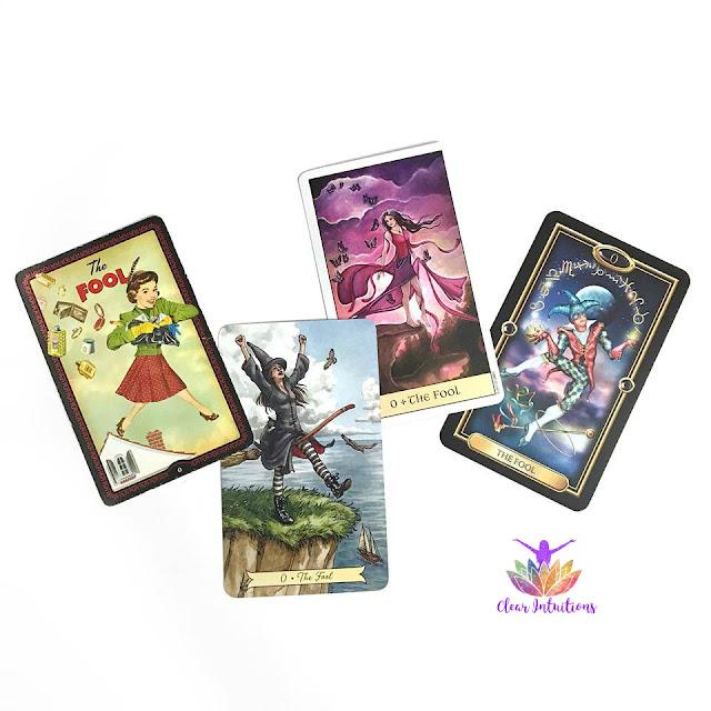 The Fool - Tarot Card - Various Decks