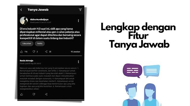 fitur tanya jawab IDN App