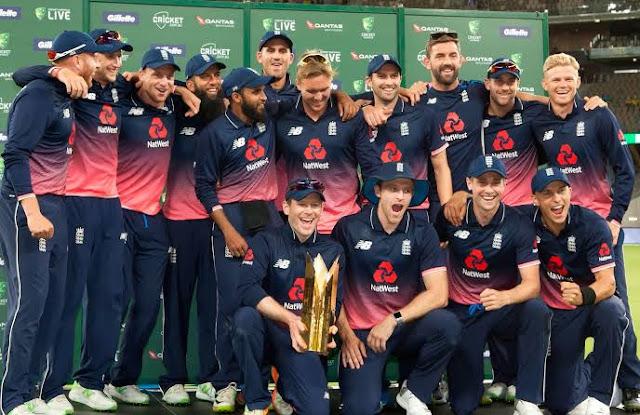 इंग्लैंड आईसीसी की नंबर वन वनडे टीम है।