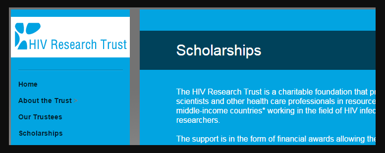 HIV Research Trust Stipendium