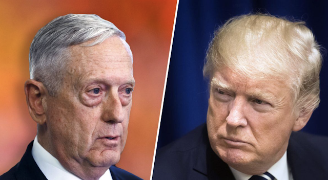 Trump Attacks His Defense Secretary Days After Resignation Letter