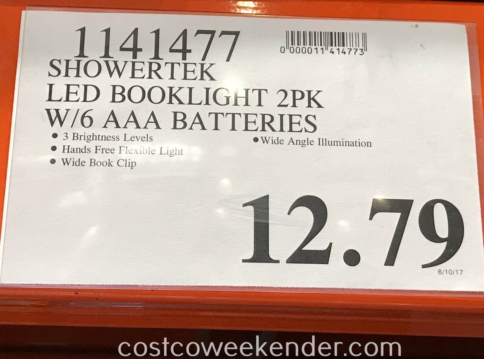 Deal for a 2 pack of MyLight Ultra Bright LED Book Lights at Costco