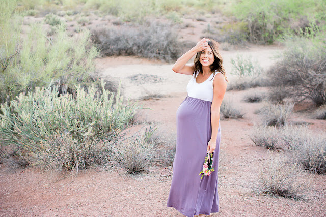 Arizona Maternity Shoot Desert Maternity shoot maternity maxi dress amazon maxi dress