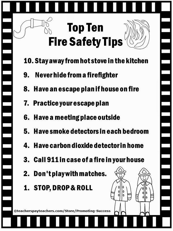 Enjoy This Free Fire Prevention Week Printable