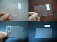 Flashdisk Kartu Transparan – FDCD11