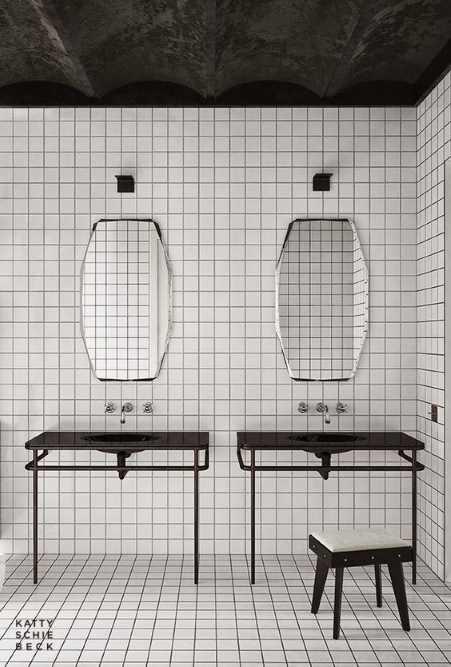 dual vanity mirrors