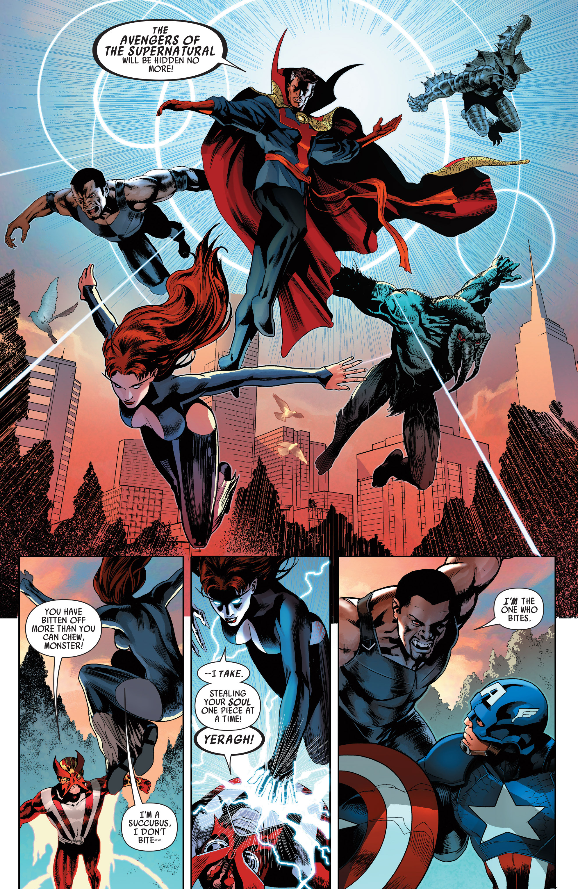 Read online Uncanny Avengers (2012) comic -  Issue # Annual 1 - 12