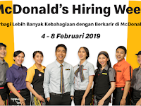 lowongan kerja McDonalds Indonesia