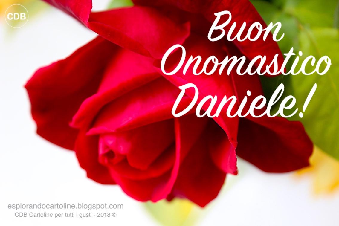 Cdb Cartoline Per Tutti I Gusti Cartolina Buon Onomastico Daniele