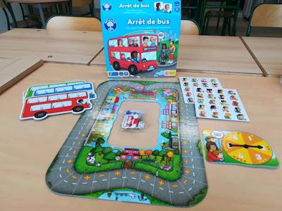 Jeu éducatif l'arrêt de bus Orchard Toys - Calcul mental additions et soustractions