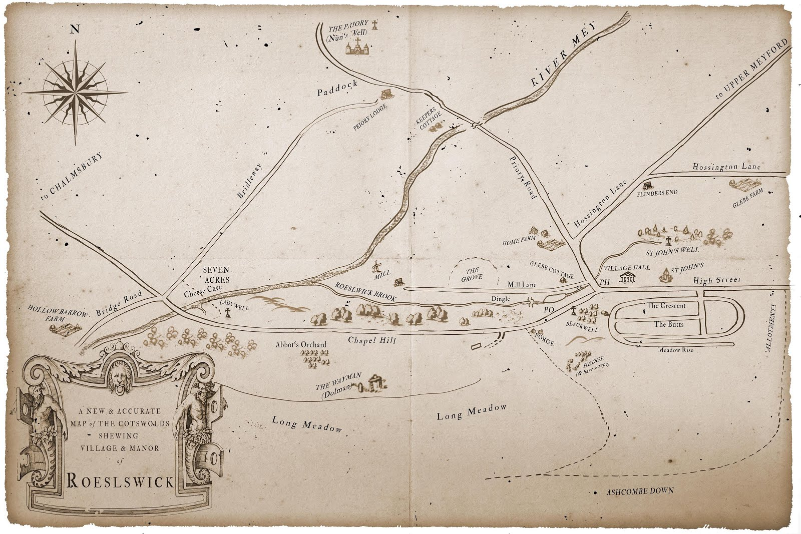 A map of Roelswick