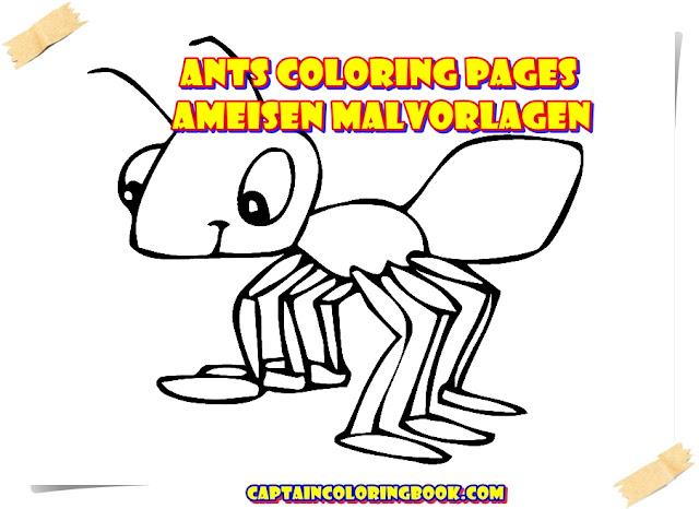 Großzügig Ameisen Malvorlagen Fotos - Framing Malvorlagen ...