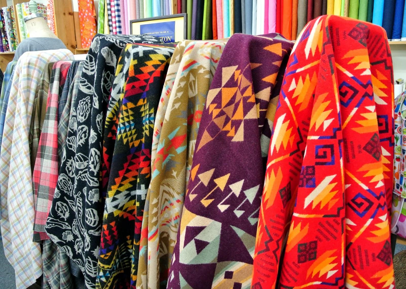 Treadle Yard Goods Pendleton Wool