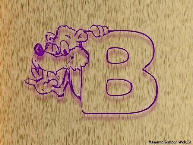 Nama Binatang Dari Huruf B