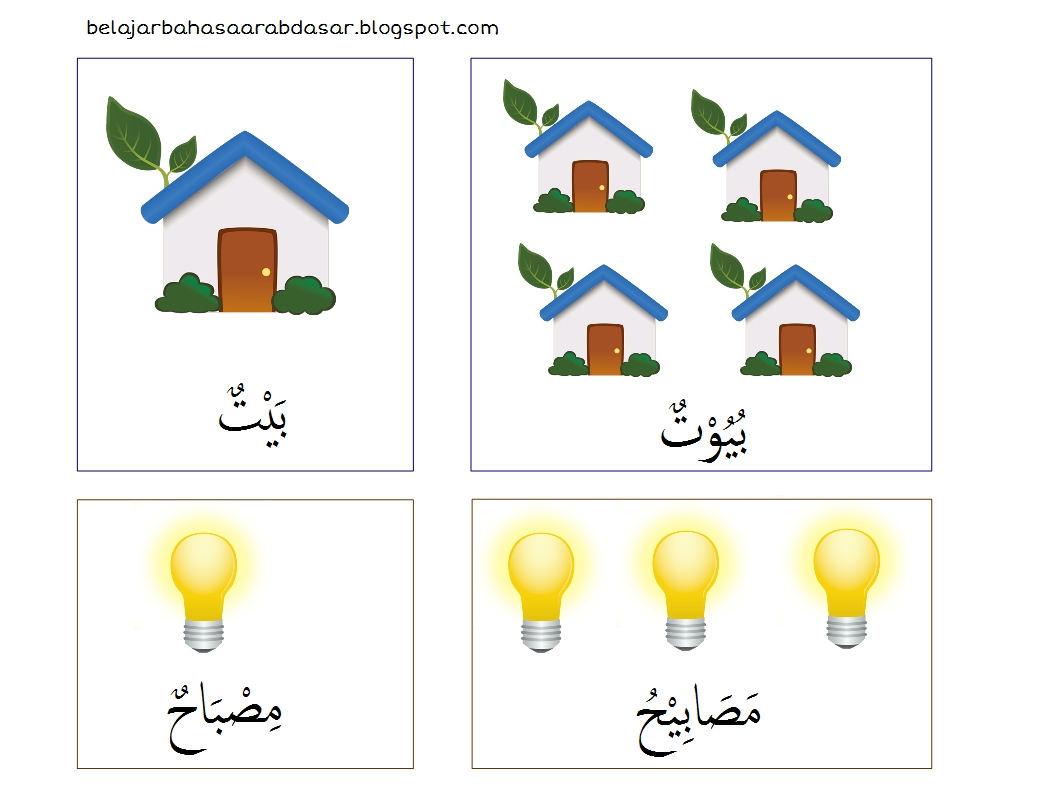 Kosakata Bahasa Arab Tentang Rumah   Isim Mufrad dan Jamak
