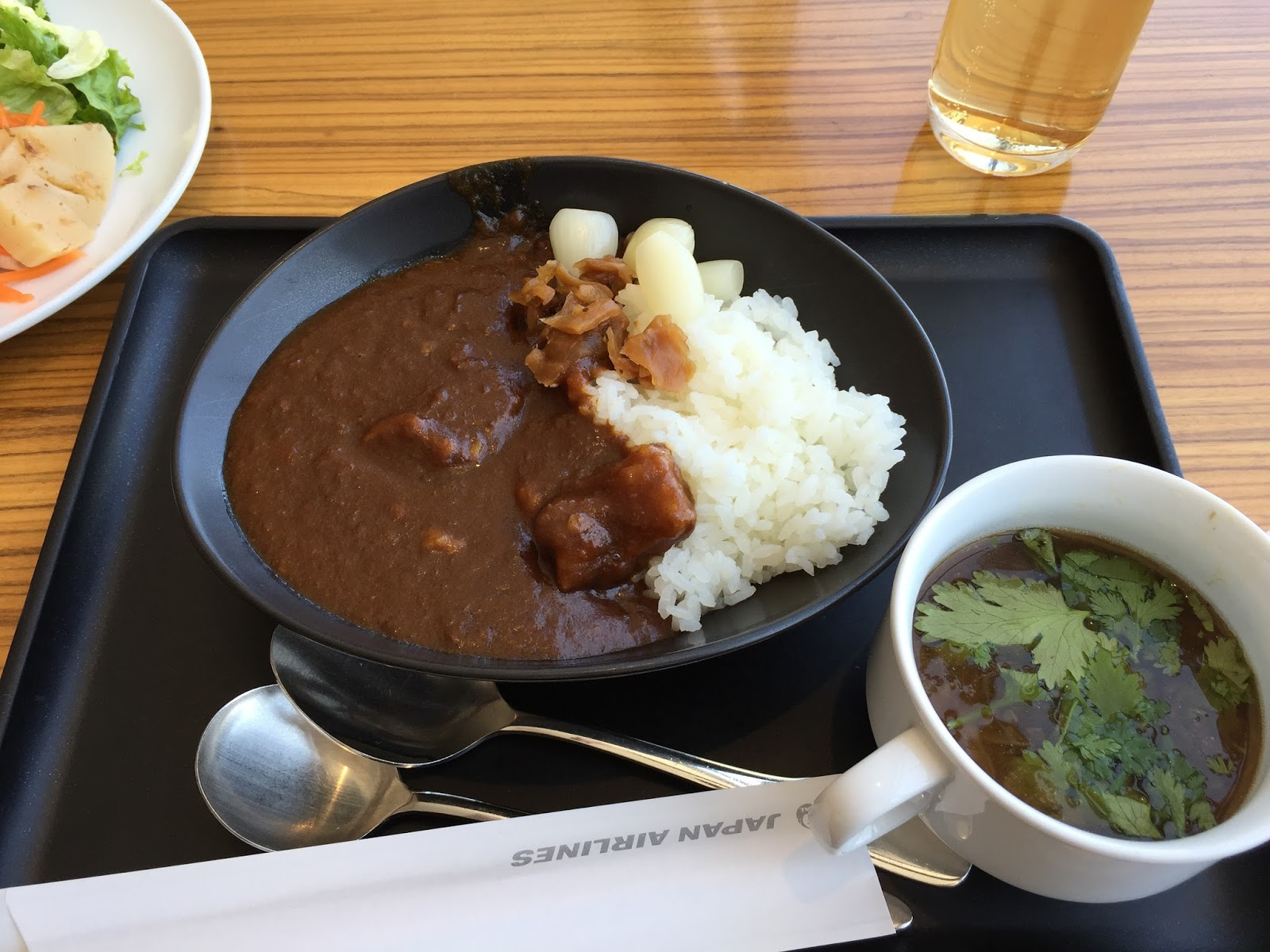 jal-lounge-curryrice JALカレーライス