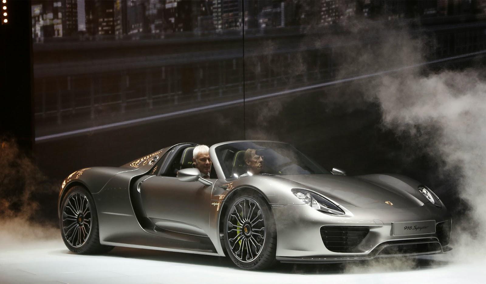 Porsche 918 Spyder High Wheels