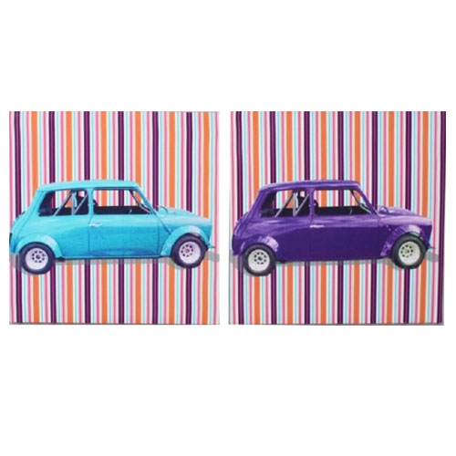 cuadros de coches pop