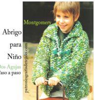 Sacón Montgomery para Niño Tricot