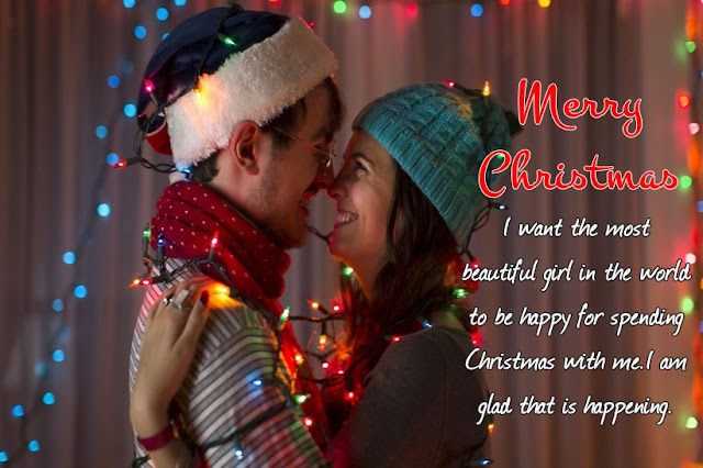Happy Merry Christmas Love Messages for Girlfriend